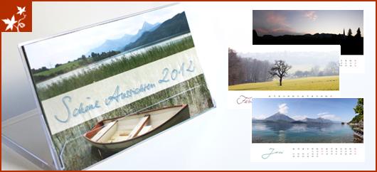 Tischkalender Aussichten 2011