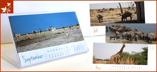 Tischkalender Afrika 2013
