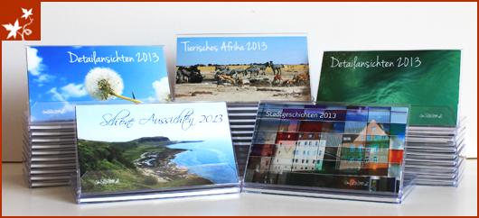 Auswahl Kalender 2013