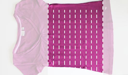 T-Shirt Vorbereitung 2